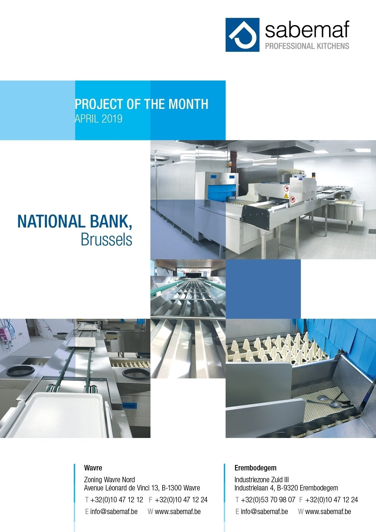Project of the month, April 2019, National Bank, Brussels