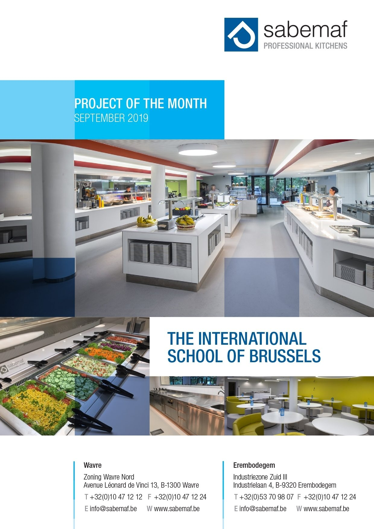Project of the month - September 2019 - The International School of Brussels